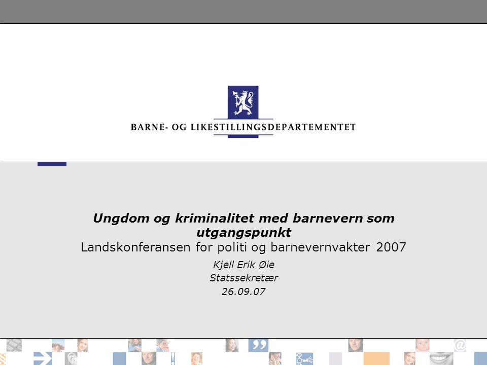 Kjell Erik Øie Statssekretær 26.09.07