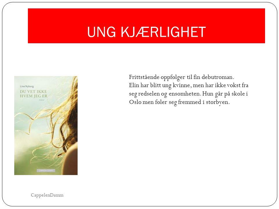 UNG KJÆRLIGHET Frittstående oppfølger til fin debutroman.