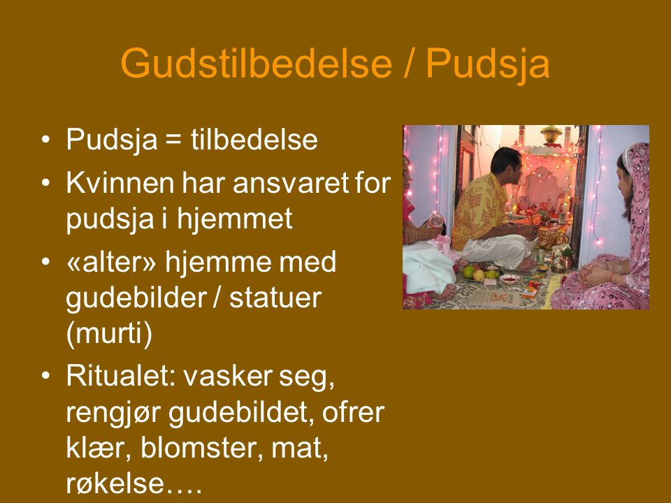 Gudstilbedelse / Pudsja