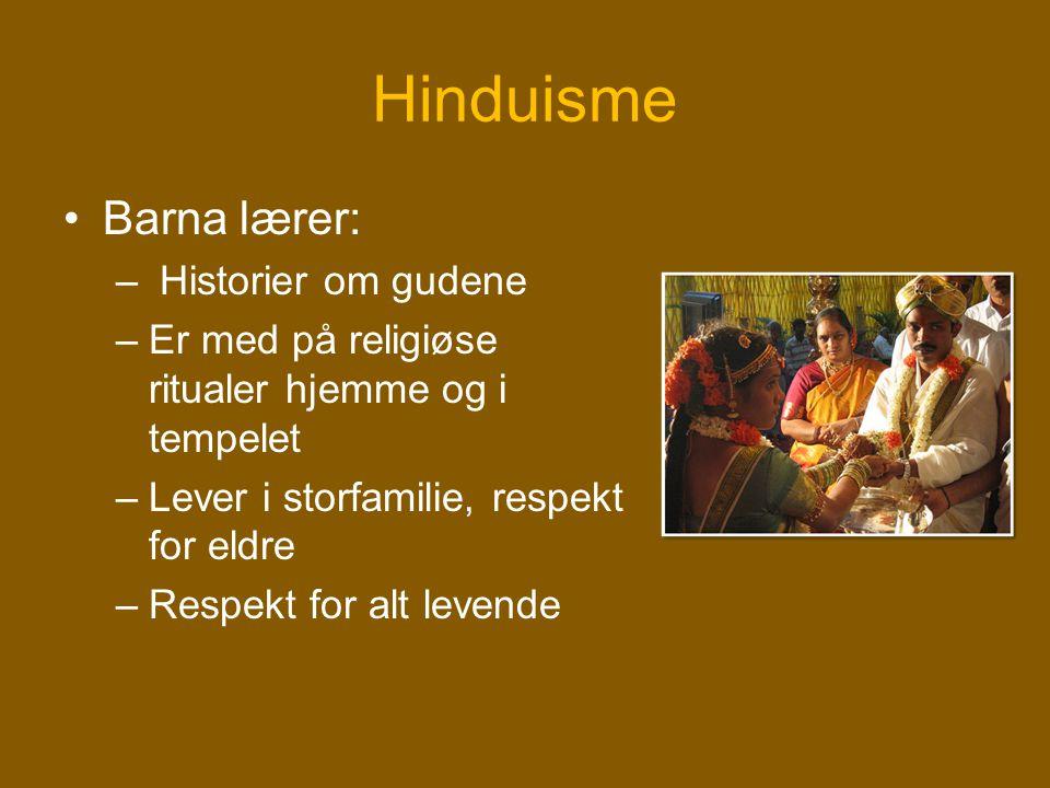 Hinduisme Barna lærer: Historier om gudene