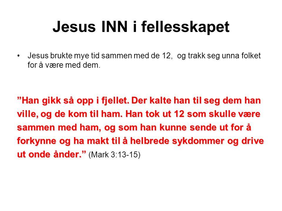 Jesus INN i fellesskapet
