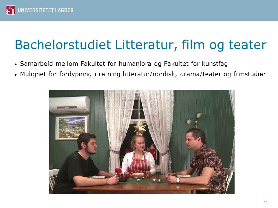 Bachelorstudiet Litteratur, film og teater