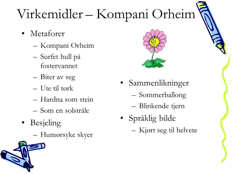Virkemidler – Kompani Orheim