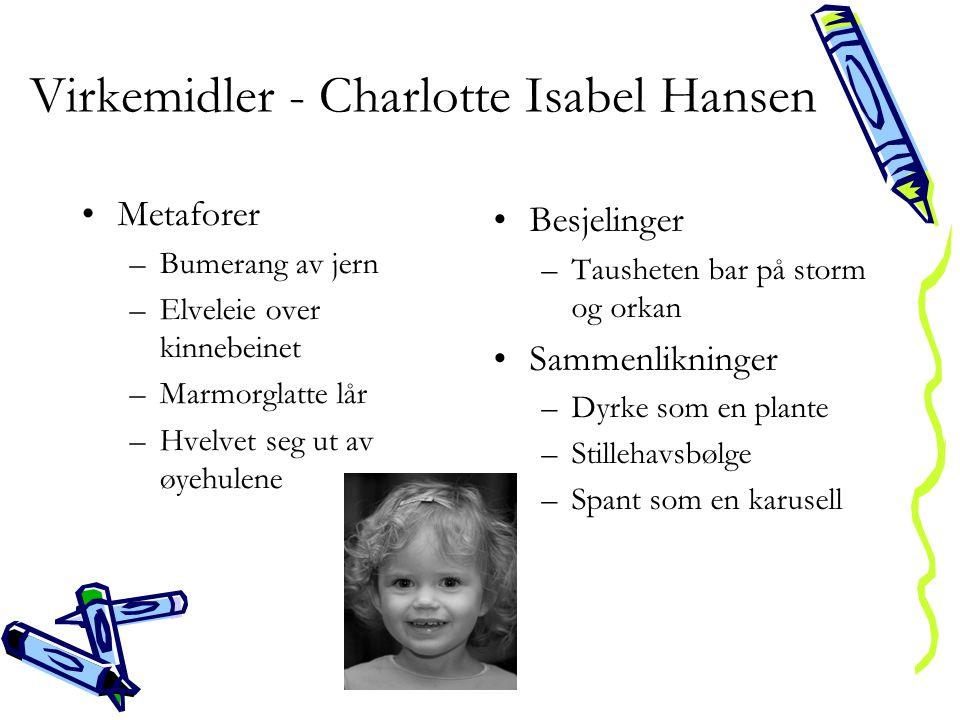 Virkemidler - Charlotte Isabel Hansen