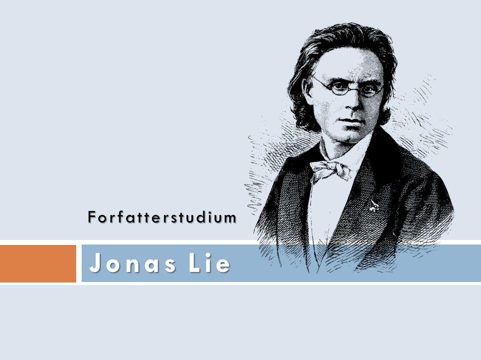 Forfatterstudium Jonas Lie