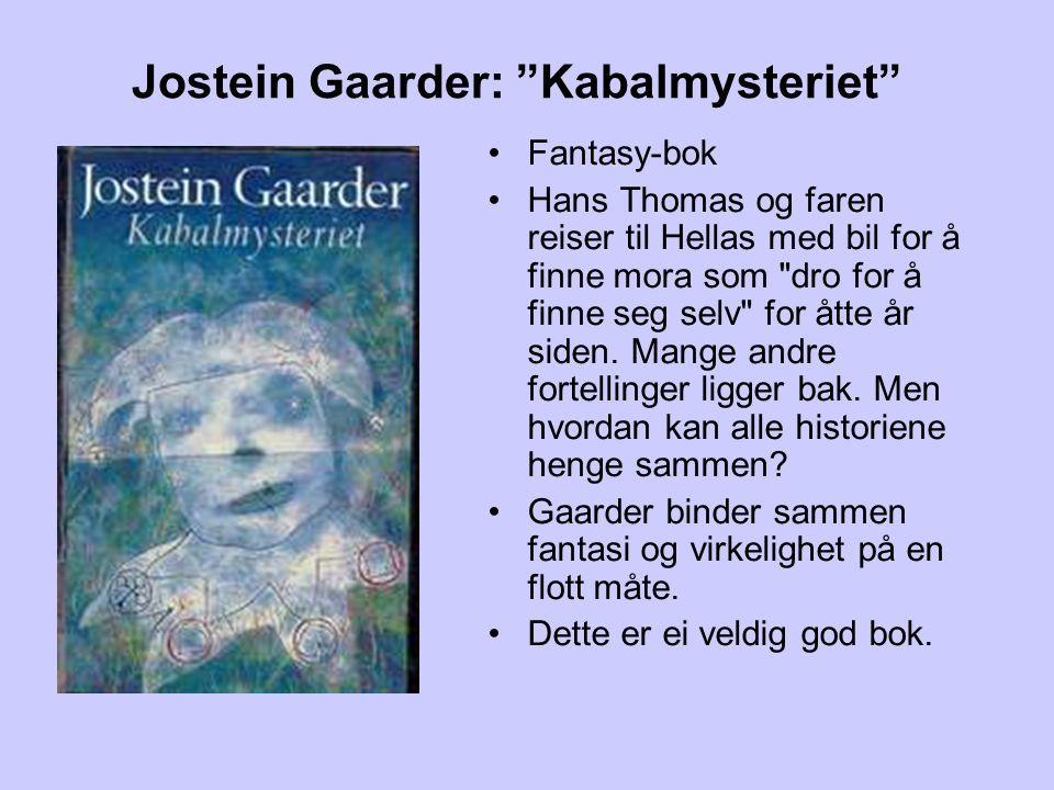 Jostein Gaarder: Kabalmysteriet