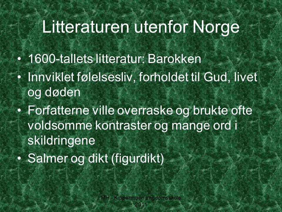 Litteraturen utenfor Norge
