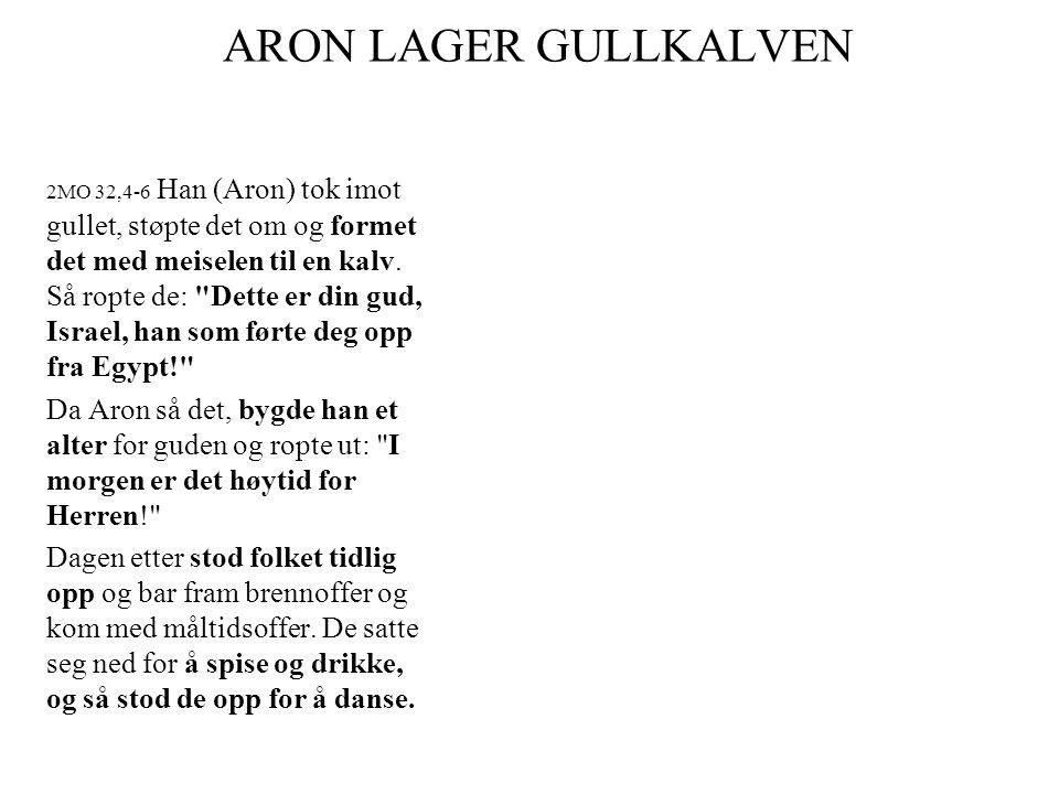 ARON LAGER GULLKALVEN
