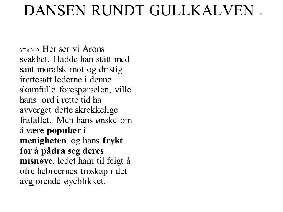 DANSEN RUNDT GULLKALVEN II
