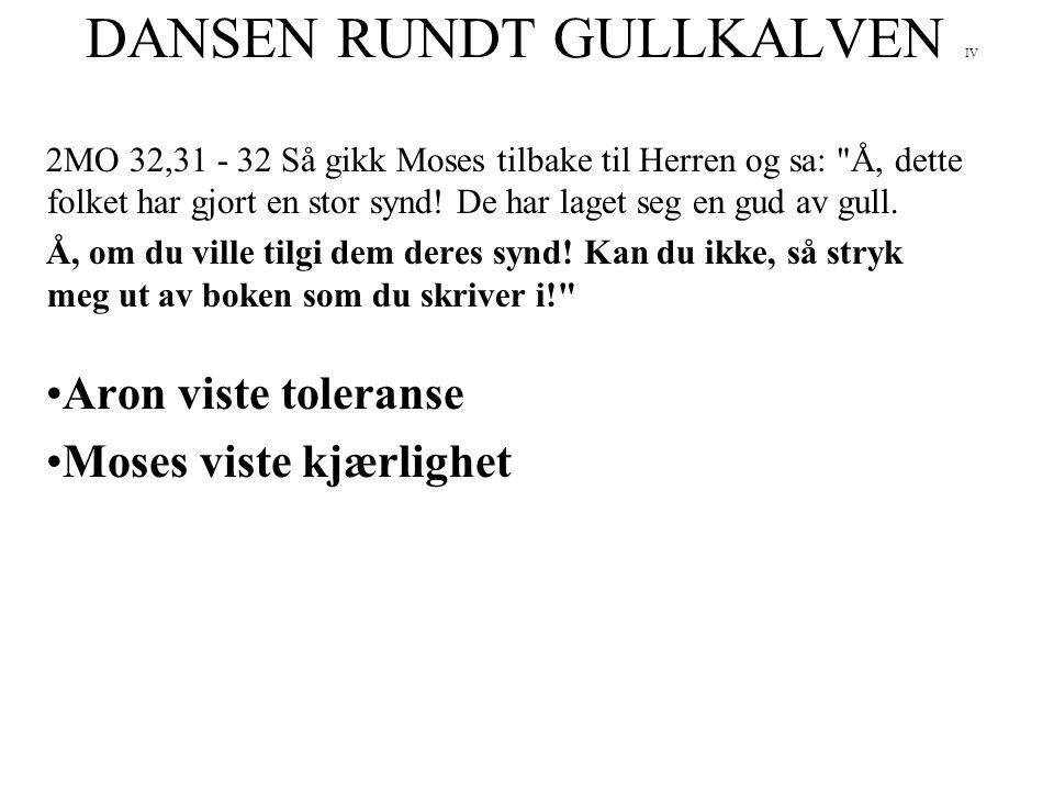DANSEN RUNDT GULLKALVEN IV