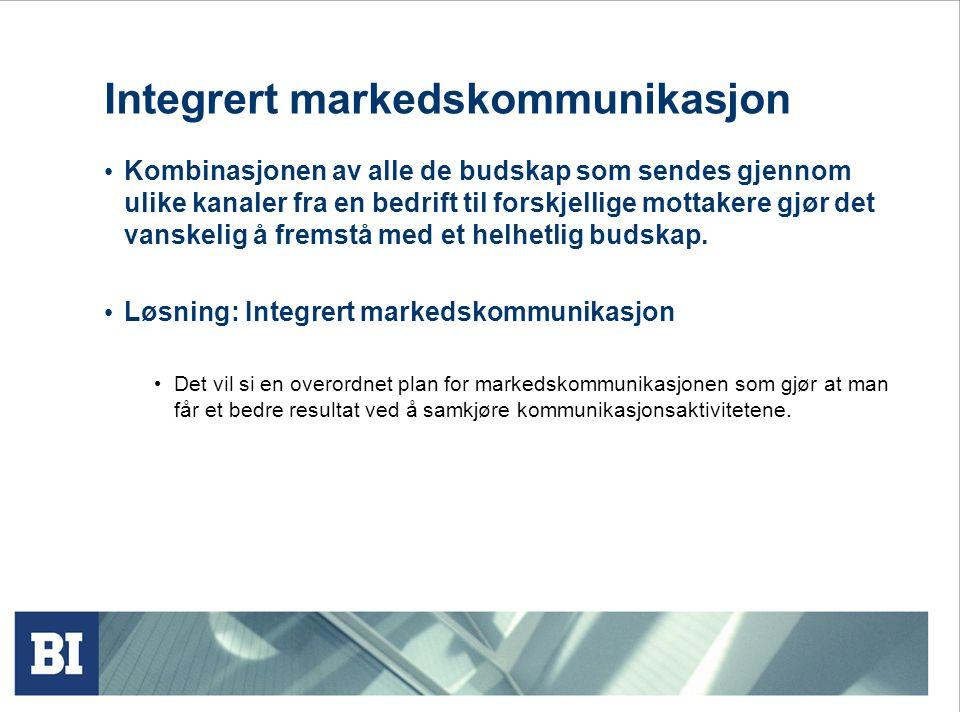 Integrert markedskommunikasjon
