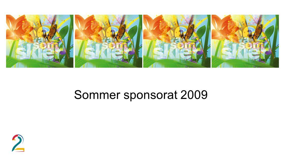 Sommer sponsorat 2009