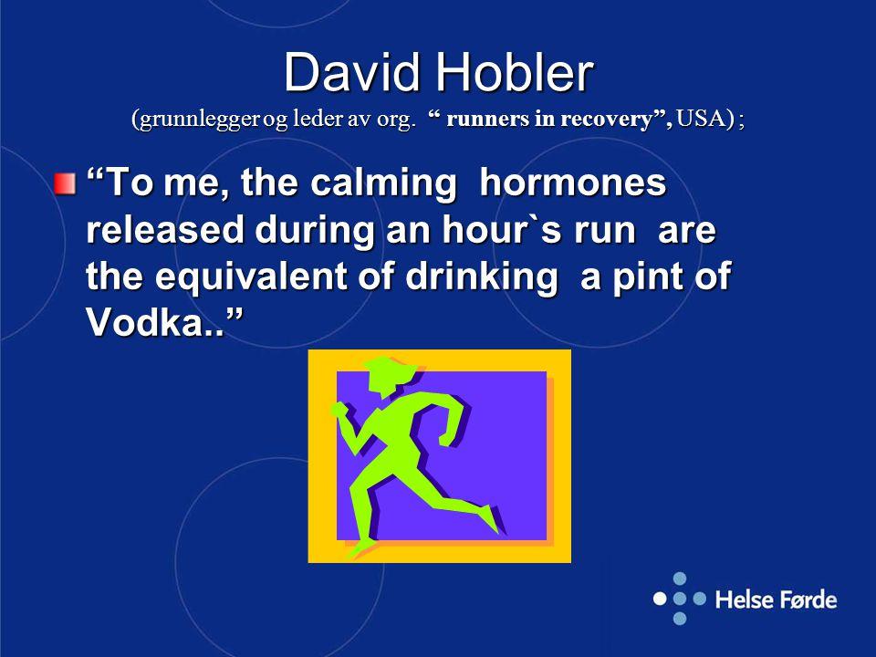 David Hobler (grunnlegger og leder av org