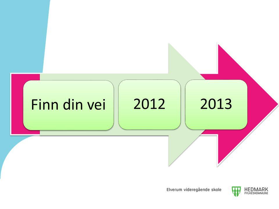 2012 Finn din vei Finn din vei 2012 2013