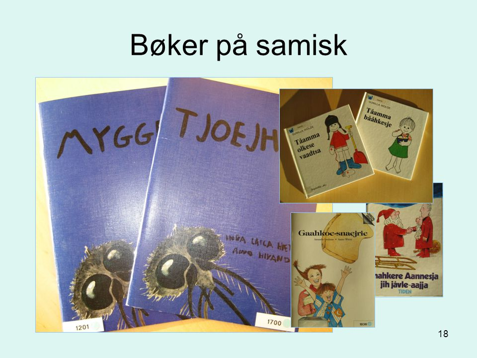Bøker på samisk