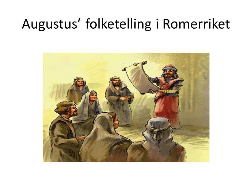 Augustus' folketelling i Romerriket