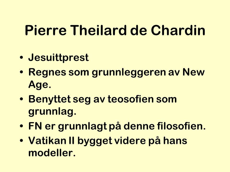 Pierre Theilard de Chardin