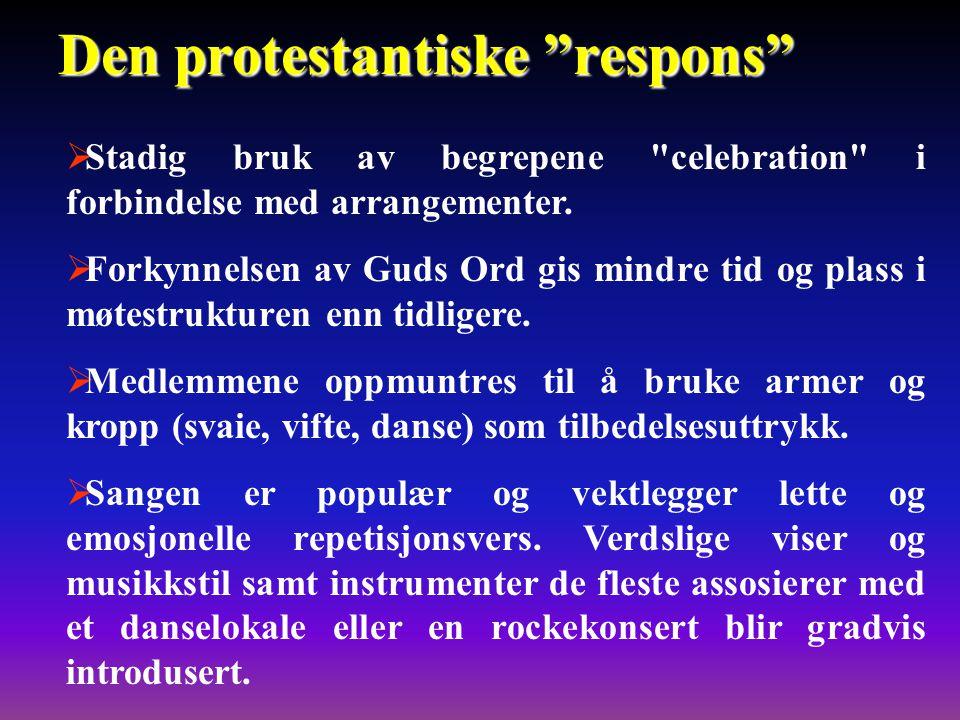 Den protestantiske respons