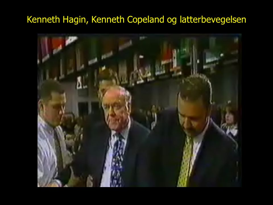 Kenneth Hagin, Kenneth Copeland og latterbevegelsen