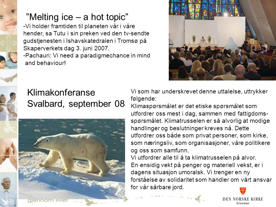 Melting ice – a hot topic