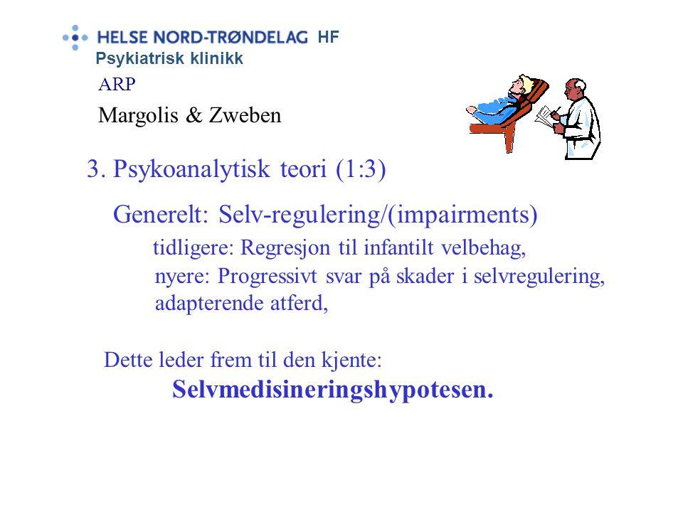 3. Psykoanalytisk teori (1:3)