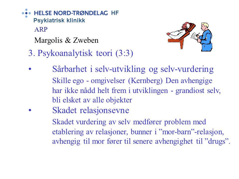 3. Psykoanalytisk teori (3:3)