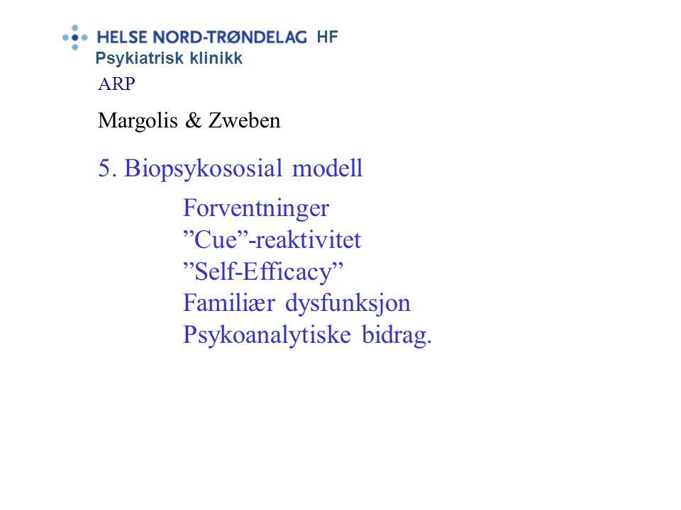 5. Biopsykososial modell