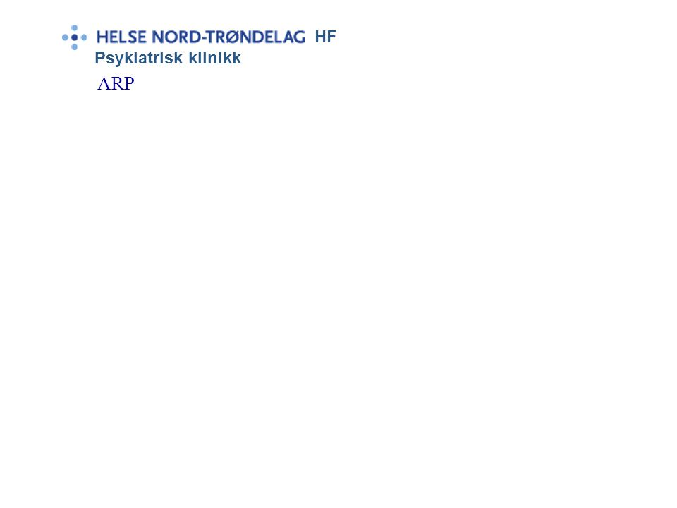 HF Psykiatrisk klinikk ARP