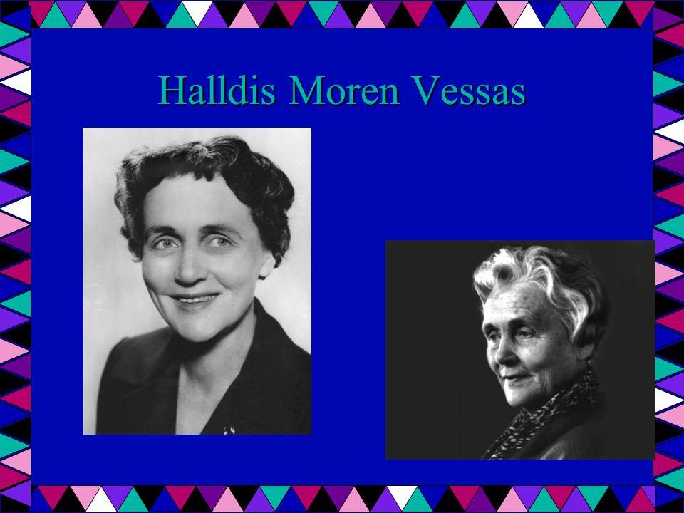 Halldis Moren Vessas