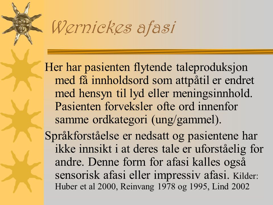 Wernickes afasi