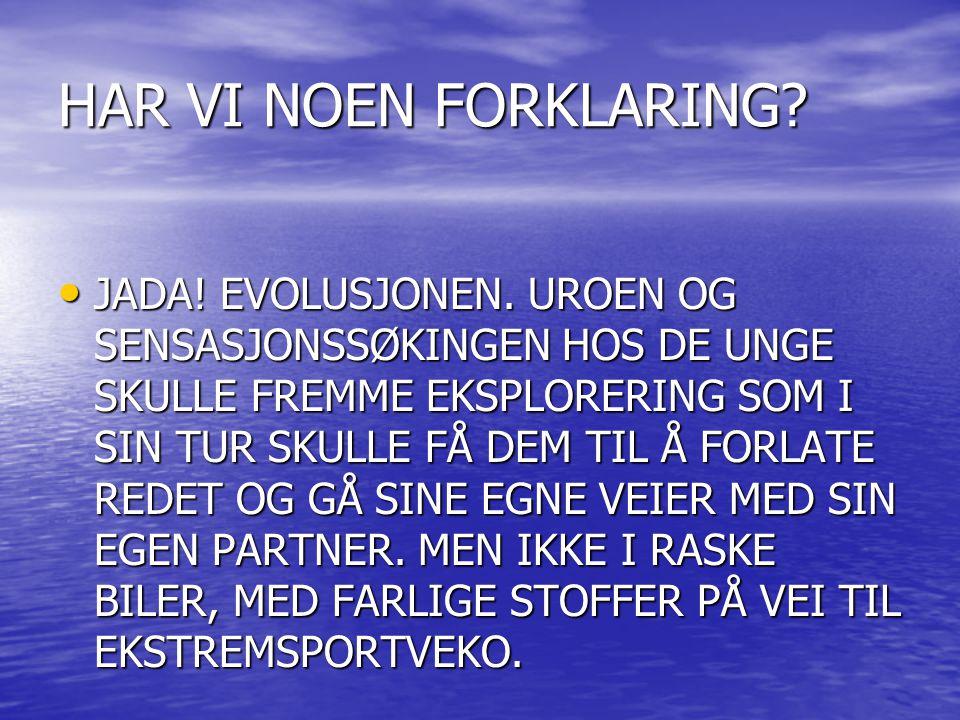 HAR VI NOEN FORKLARING