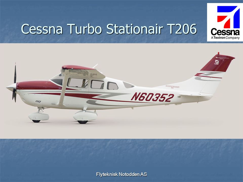 Cessna Turbo Stationair T206