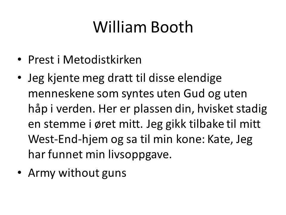 William Booth Prest i Metodistkirken
