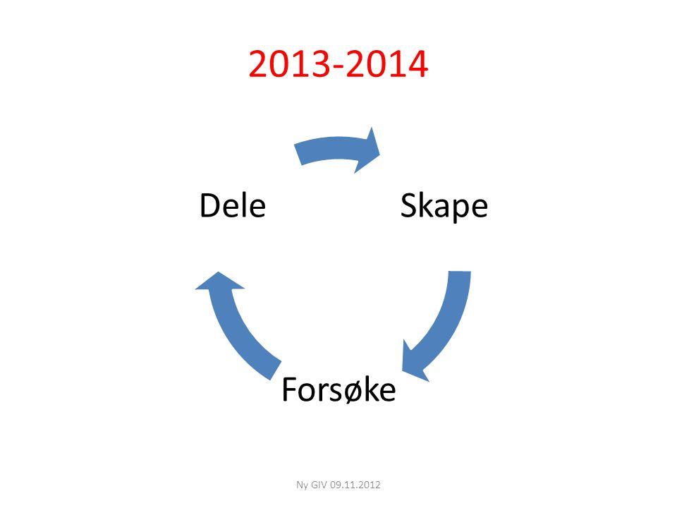 2013-2014 Skape Forsøke Dele Ny GIV 09.11.2012