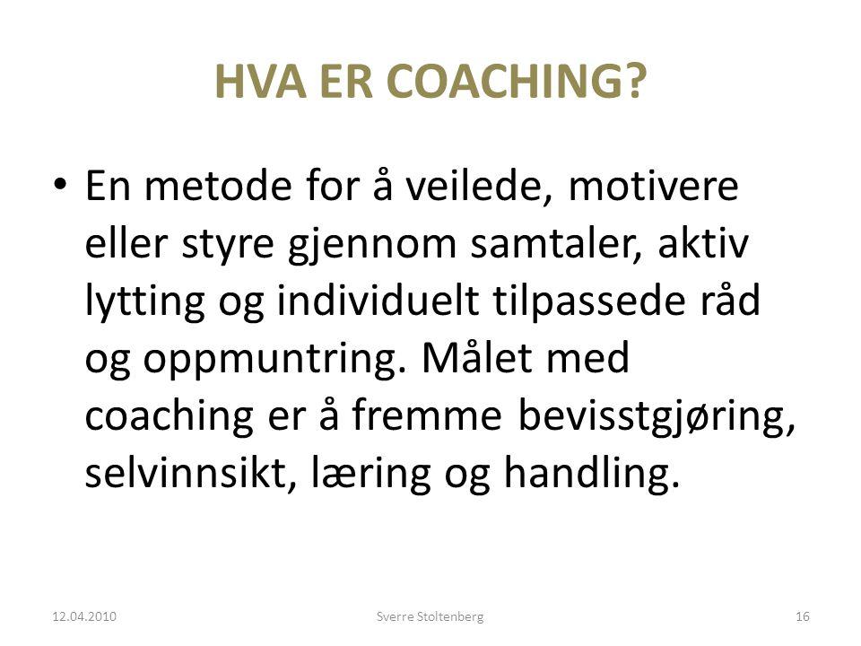 HVA ER COACHING