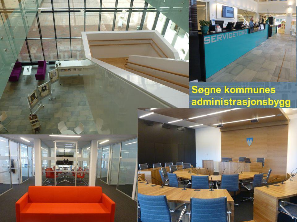 Søgne kommunes administrasjonsbygg