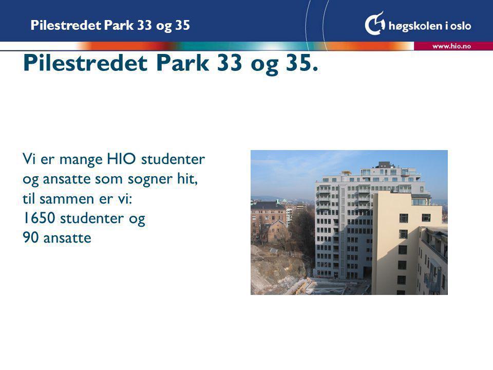 Pilestredet Park 33 og 35.