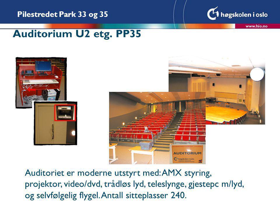 Auditorium U2 etg. PP35