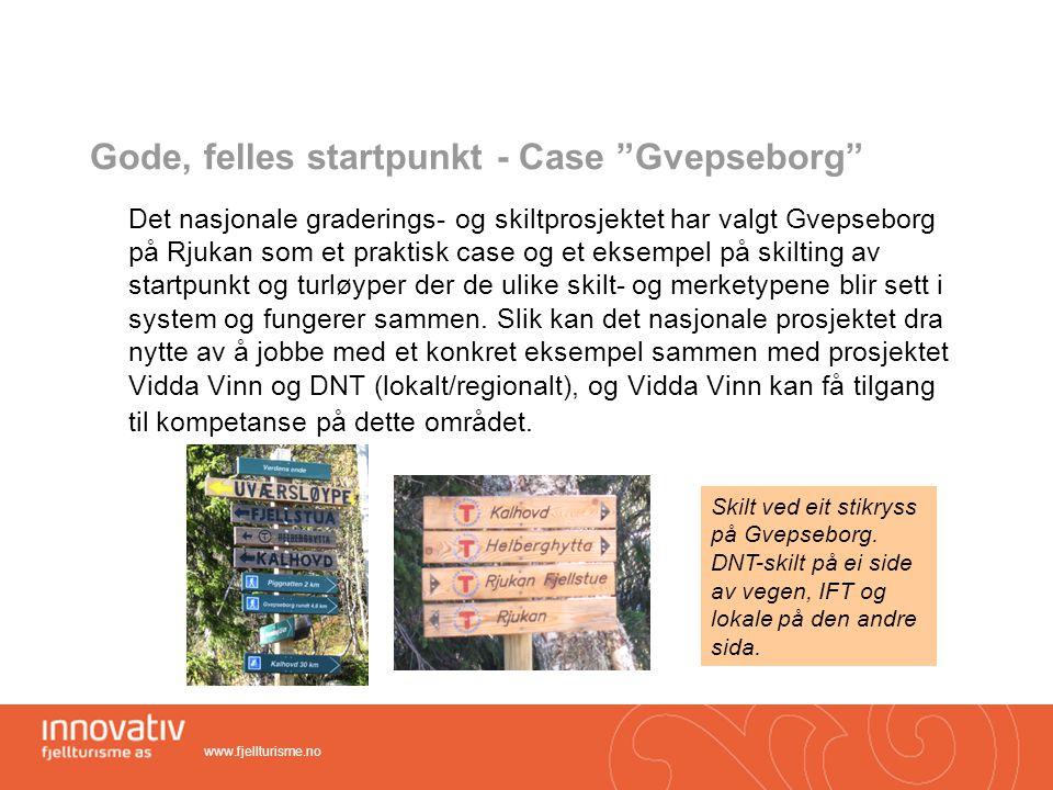 Gode, felles startpunkt - Case Gvepseborg