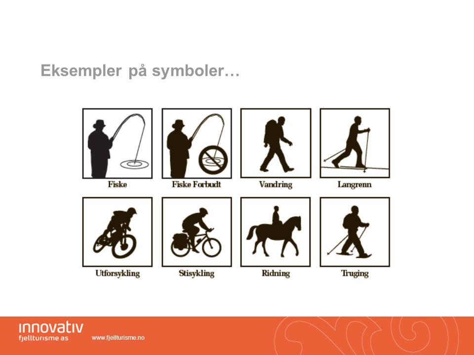Eksempler på symboler…