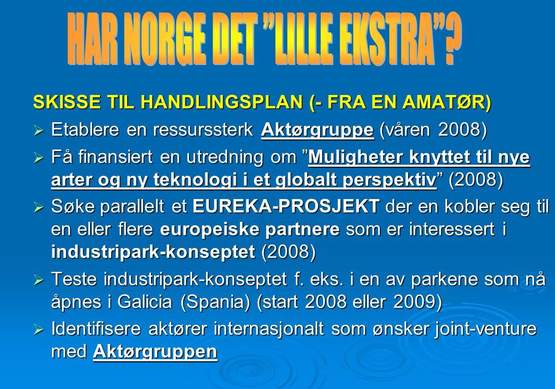 HAR NORGE DET LILLE EKSTRA