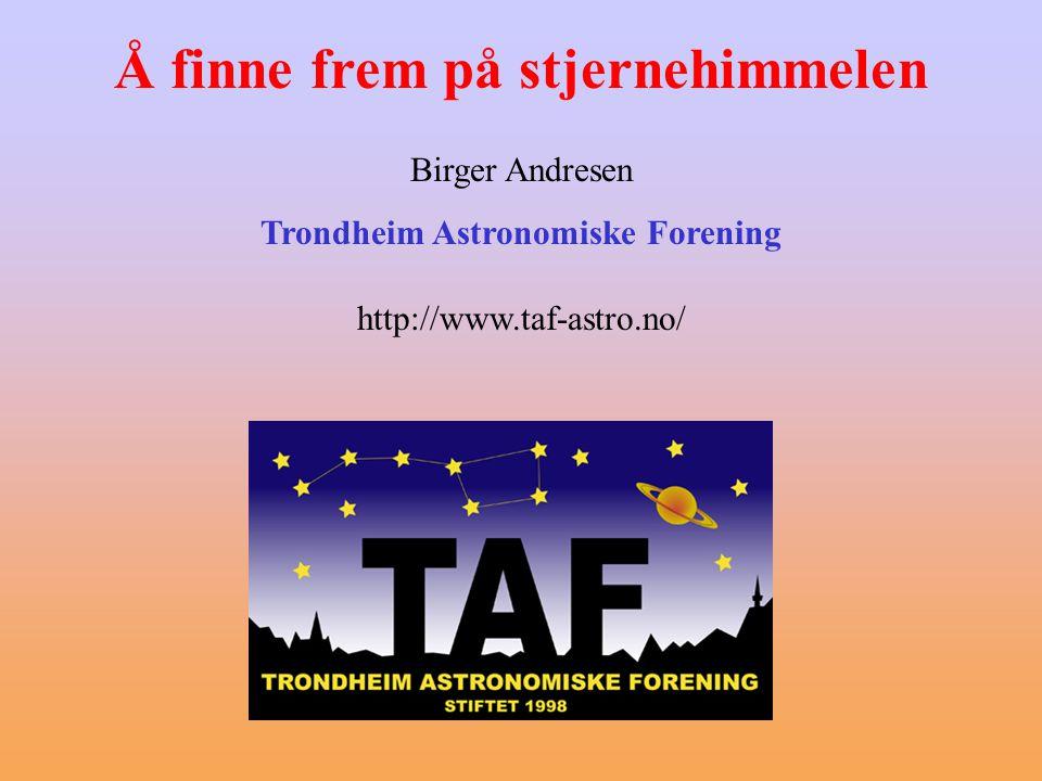Trondheim Astronomiske Forening