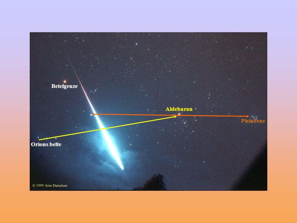 Betelgeuze Aldebaran Pleiadene Orions belte