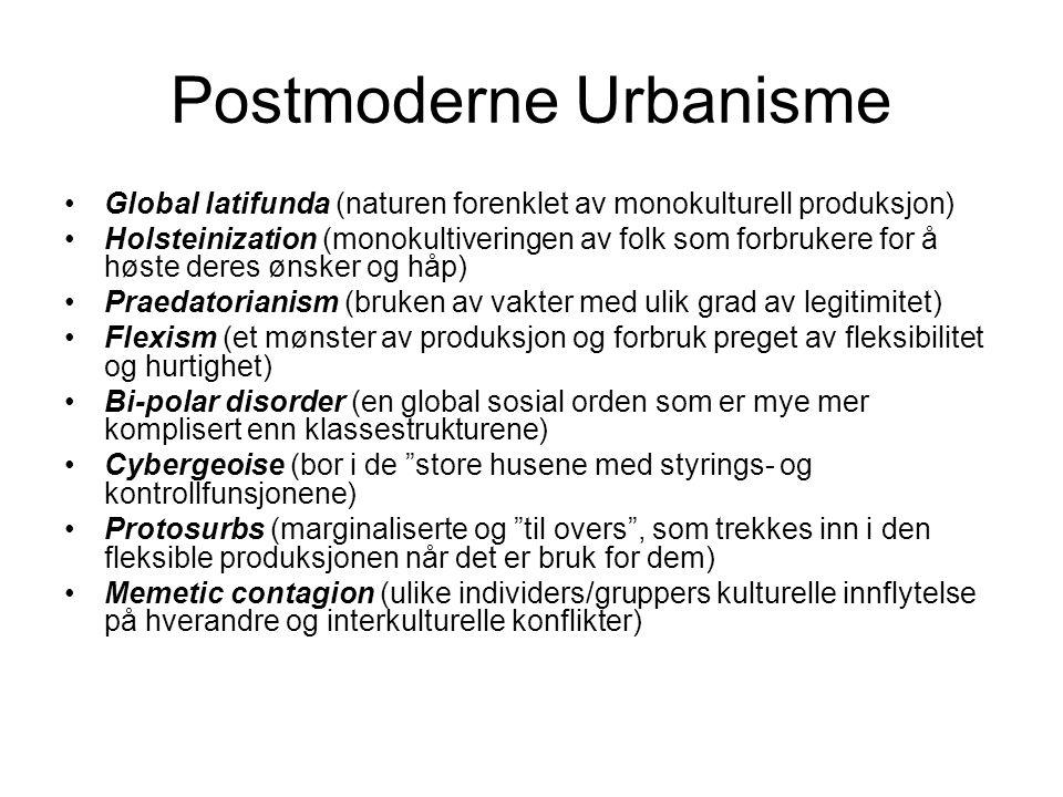 Postmoderne Urbanisme
