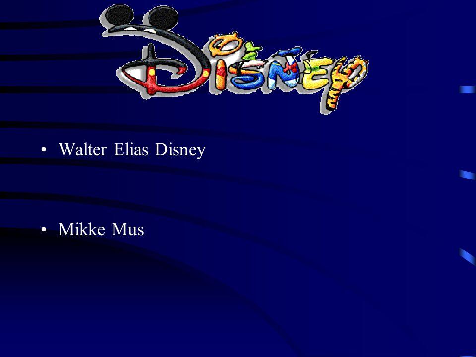 Walter Elias Disney Mikke Mus