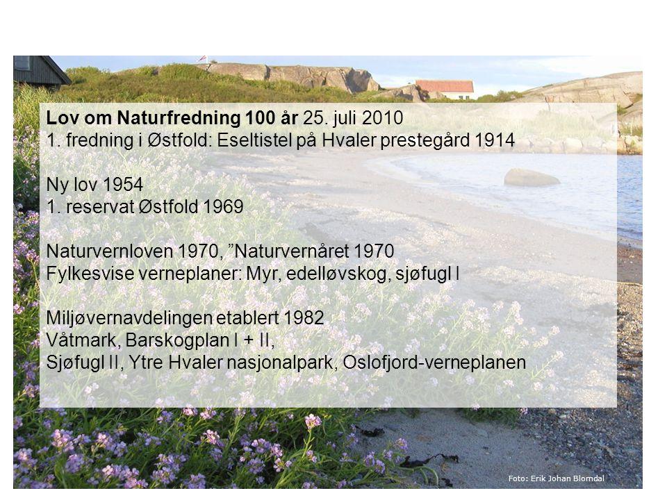 Sjøfugl II, Ytre Hvaler nasjonalpark, Oslofjord-verneplanen