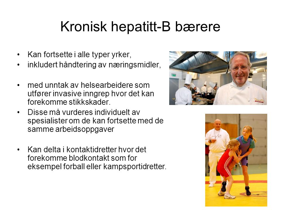 Kronisk hepatitt-B bærere