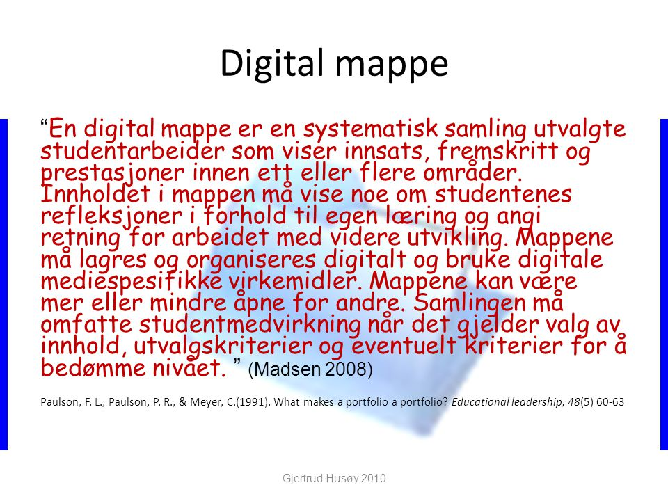 Digital mappe