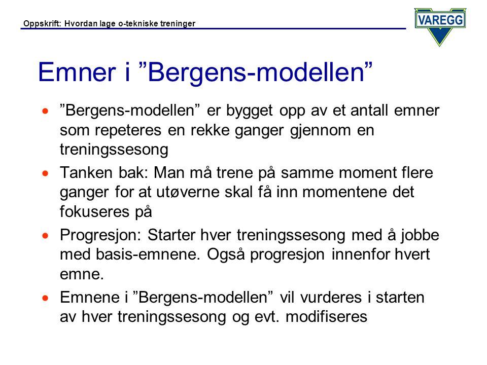Emner i Bergens-modellen