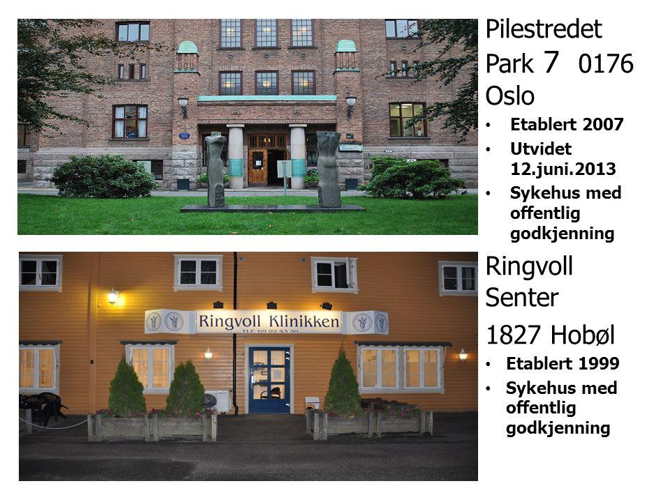 Pilestredet Park 7 0176 Oslo Ringvoll Senter 1827 Hobøl Etablert 2007